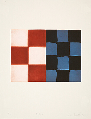 "Sean Scully, ""Barcelona Diptych 4"", Martino 96004"