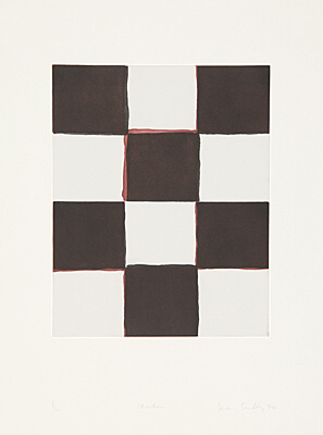 "Sean Scully, ""Checker"", Martino 94004"