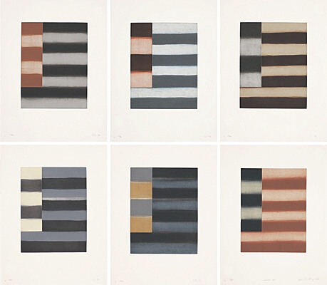"Sean Scully, ""Enter Six"",Martino 98002"