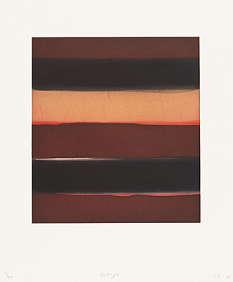 "Sean Scully, ""Orange"",  nicht mehr bei Martino"