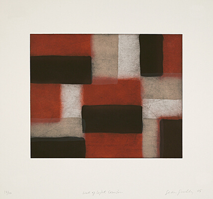 "Sean Scully, ""Wall of Light Crimson"",  nicht mehr bei Martino"