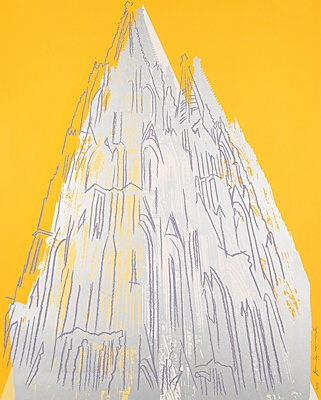 "Andy Warhol, ""Cologne Cathedral"